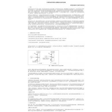 SARS疫情開展光觸媒的無限商機 ‧經濟部技術處ITIS產業評析
