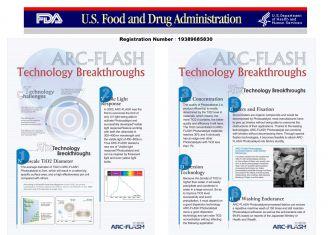 ARC-FLASH光觸媒取得FDA認證